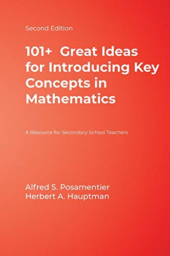 9781412927055: 101+ Great Ideas for Introducing Key Concepts in Mathematics: A Resource for Secondary School Teachers