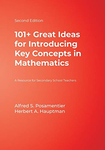 9781412927062: 101+ Great Ideas for Introducing Key Concepts in Mathematics: A Resource for Secondary School Teachers