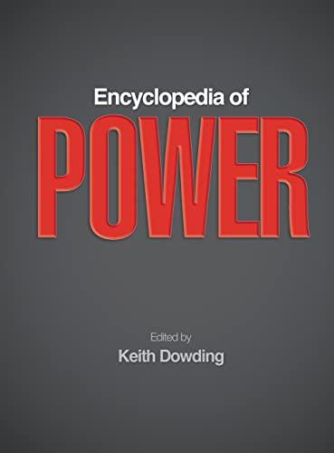 9781412927482: Encyclopedia of Power