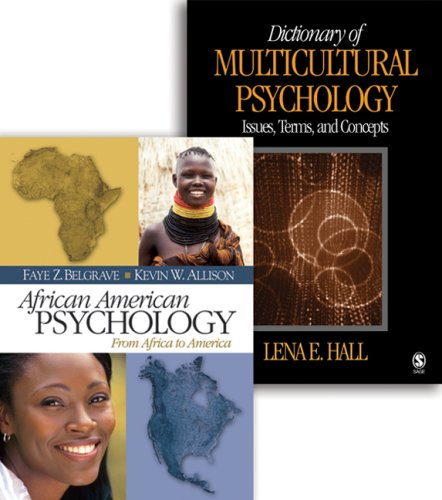9781412927543: Bundle: African American Psychology: From Africa to America/Dictionary of Multicultural Psychology: Issues, Terms, and Concepts