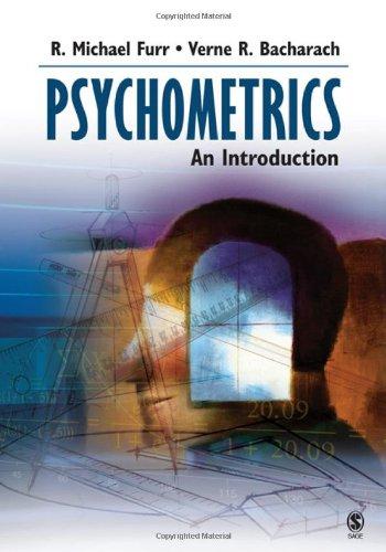 Psychometrics: An Introduction: R. Michael Furr,