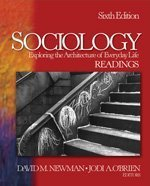 9781412928137: Sociology: Exploring the Architecture of Everyday Life Readings