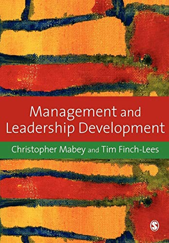 9781412929028: Management and Leadership Development
