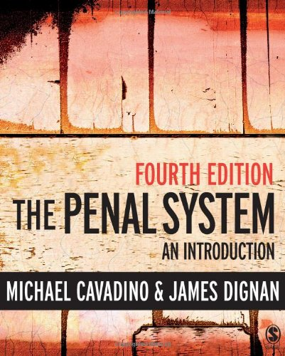 9781412929462: The Penal System: An Introduction