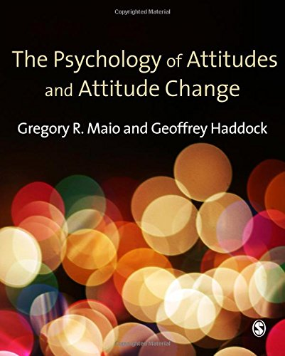9781412929752: The Psychology of Attitudes and Attitude Change (Sage Social Psychology Program)