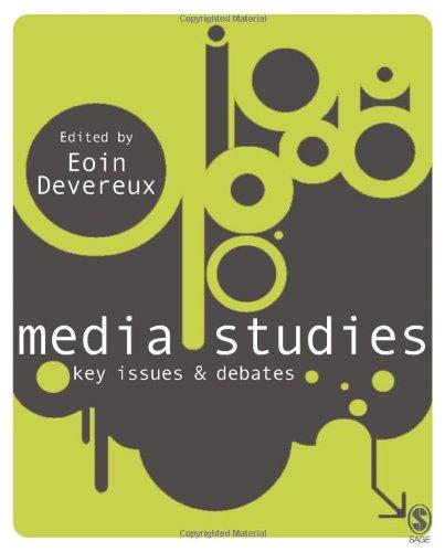 9781412929820: Media Studies: Key Issues and Debates
