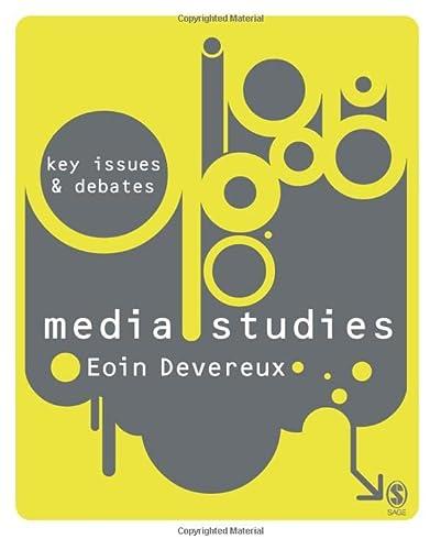 9781412929837: Media Studies: Key Issues and Debates