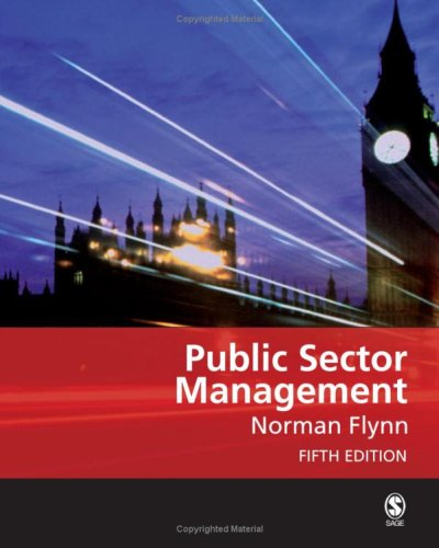 9781412929929: Public Sector Management