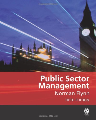 9781412929936: Public Sector Management