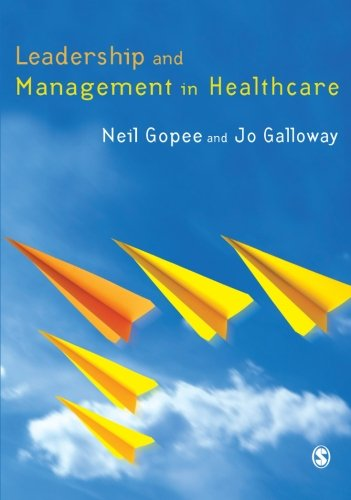 9781412930185: Leadership and Management in Healthcare