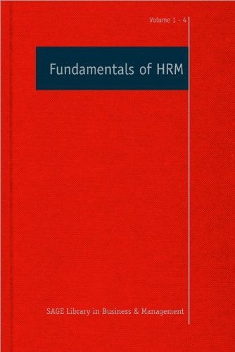 Fundamentals of HRM: Neil Anderson (editor)