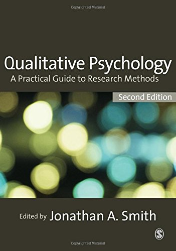 9781412930840: Qualitative Psychology: A Practical Guide to Research Methods