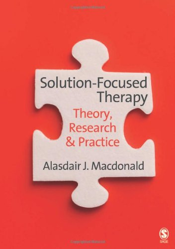 9781412931168: Solution-Focused Therapy: Theory, Research & Practice