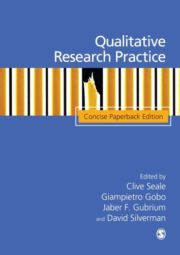 9781412934206: Qualitative Research Practice: Concise Paperback Edition