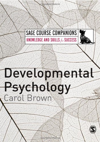9781412934657: Developmental Psychology: A Course Companion (SAGE Course Companions series)