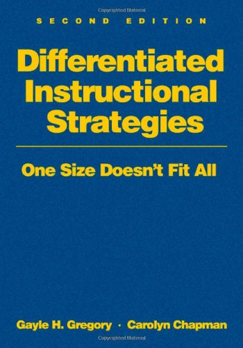 9781412936392: Differentiated Instructional Strategies: One Size Doesn′t Fit All