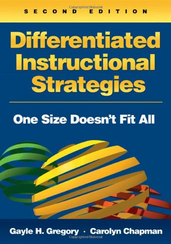 9781412936408: Differentiated Instructional Strategies: One Size Doesn′t Fit All