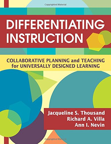 9781412938600: Differentiating Instruction: Collaborative Planning and Teaching for Universally Designed Learning