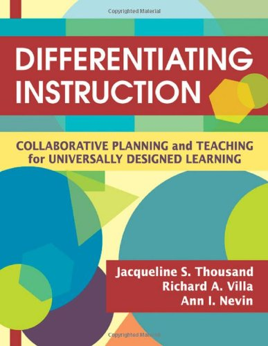 9781412938617: Differentiating Instruction: Collaborative Planning and Teaching for Universally Designed Learning