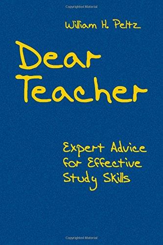 9781412938822: Dear Teacher: Expert Advice for Effective Study Skills