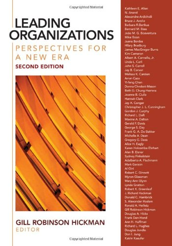 9781412939089: Leading Organizations: Perspectives for a New Era