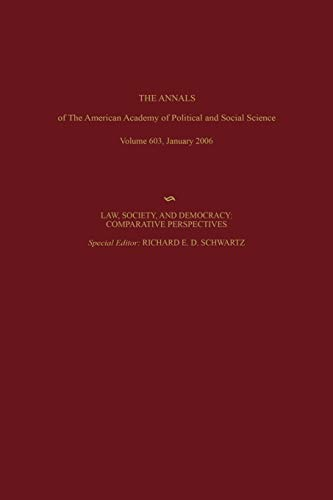 Law, Society, and Democracy: Comparative Perspectives (The: Schwartz, Richard D.