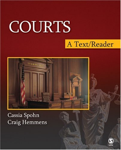 9781412940641: Courts: A Text/Reader