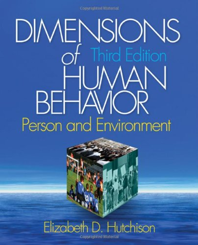 9781412941259: Dimensions of Human Behavior: Person and Environment (Series in Social Work)