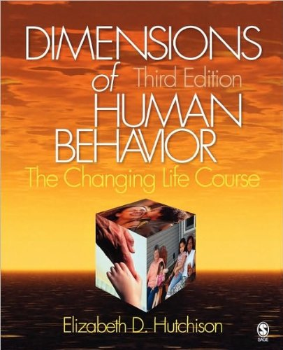 9781412941266: Dimensions of Human Behavior: The Changing Life Course