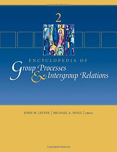 Encyclopedia of Group Processes Intergroup Relations