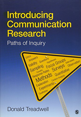 9781412944571: Introducing Communication Research: Paths of Inquiry