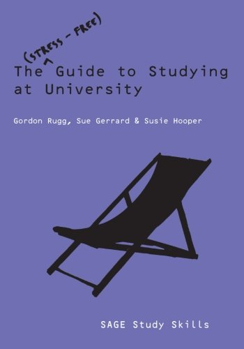 9781412944939: The Stress-Free Guide to Studying at University (SAGE Study Skills Series)