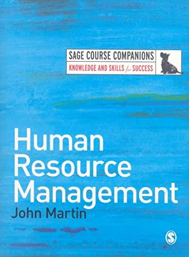 9781412945103: Human Resource Management (SAGE Course Companions series)