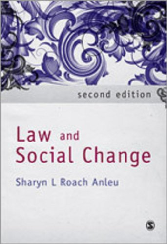 9781412945592: Law and Social Change
