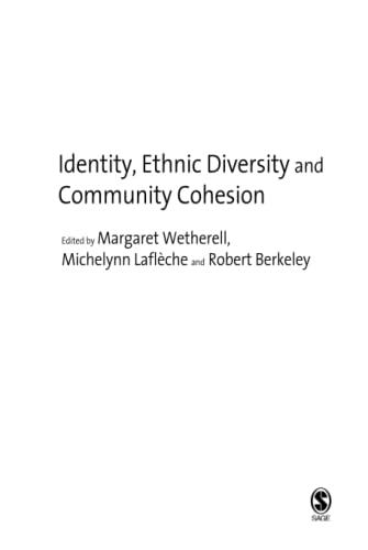 9781412946162: Identity, Ethnic Diversity and Community Cohesion
