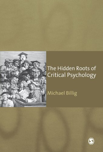 9781412947244: The Hidden Roots of Critical Psychology: Understanding the Impact of Locke, Shaftesbury and Reid