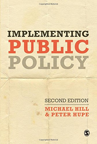 9781412947992: Implementing Public Policy: An Introduction to the Study of Operational Governance: 0