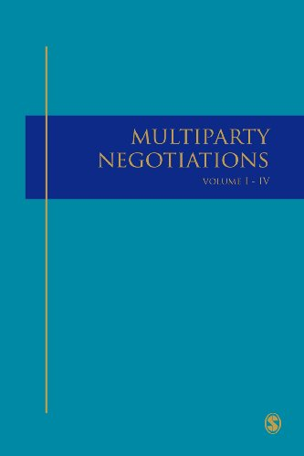 Multiparty Negotiation A(4 Vol Set)