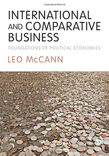 International and Comparative Business: Foundations of Political: Leo McCann