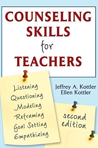 9781412949217: Counseling Skills for Teachers