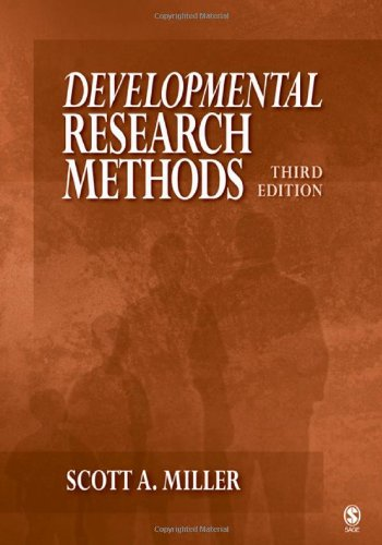 9781412950299: Developmental Research Methods