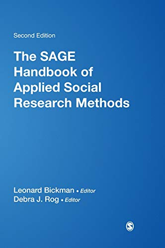 9781412950312: The SAGE Handbook of Applied Social Research Methods