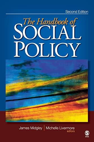 9781412950763: The Handbook of Social Policy