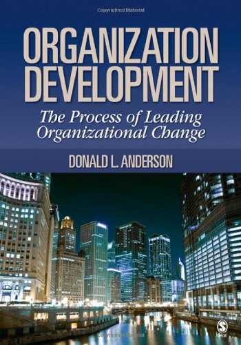 9781412950794: Organization Development: The Process of Leading Organizational Change