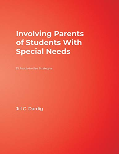 9781412951203: Involving Parents of Students With Special Needs: 25 Ready-to-Use Strategies