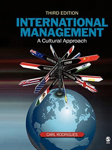 9781412951418: International Management: A Cultural Approach