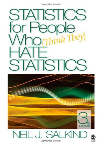 9781412951500: Statistics for People Who (Think They) Hate Statistics