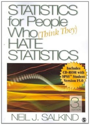 9781412951517: Statistics for People Who (Think They) Hate Statistics