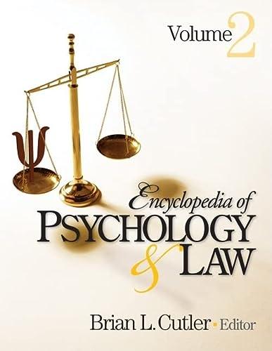 9781412951890: Encyclopedia of Psychology and Law (2 volume set)