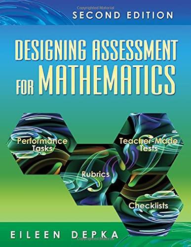 9781412952743: Designing Assessment for Mathematics